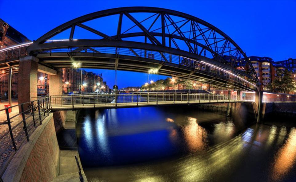 Kibbelstegbrücke Hamburg