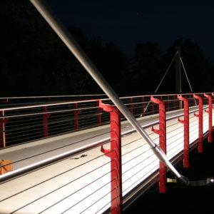 Kofahl LED-Technik beleuchteter Handlauf